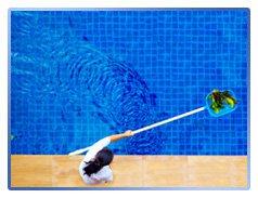 Мойка бассейна и тротуарной плитки