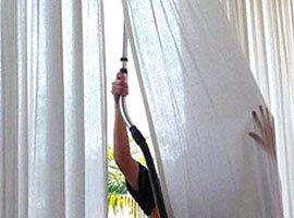 Почистить шторы
