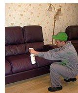 Услуги химчистки мебели