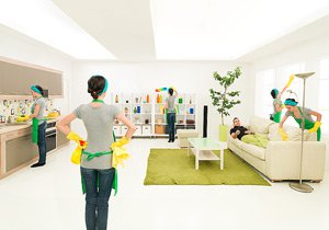 Услуги по уборке дома